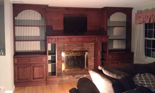 Custom Made Fireplace Surround, Wall Unit