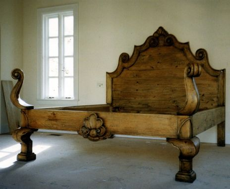 Custom Made Italian Bed