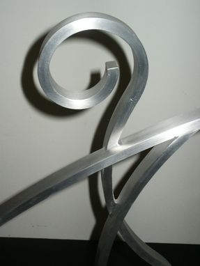Custom Made Aluminum Sculpture