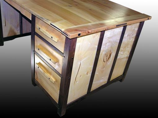 Custom Made Beautiful Greene & Greene Inspired Desks For Office Or Den