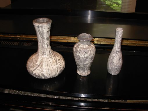 Custom Made 3 Bud Vases