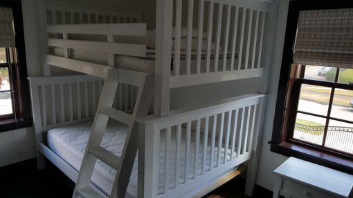 Custom Made Full Over Queen Bunk Bed