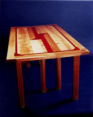 Custom Made Table With Eight Legs