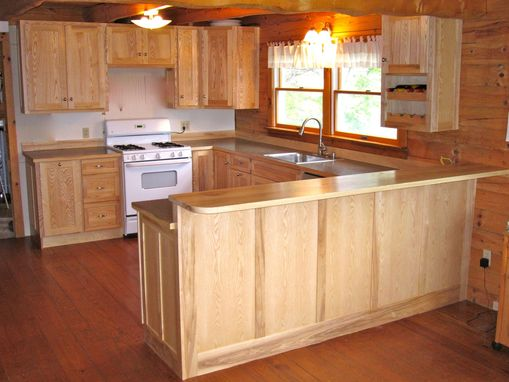 Custom Made Custom Ash Kitchen