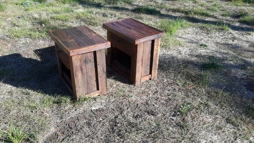 Custom Made Barnwood Night Stands/ End Tables
