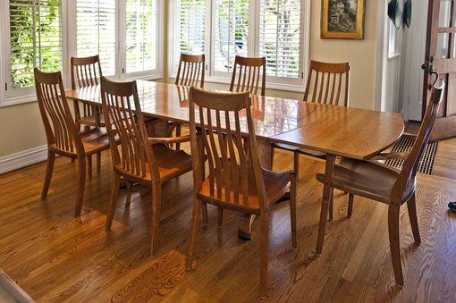 Custom Made Acadia Dining Set With End Leaves