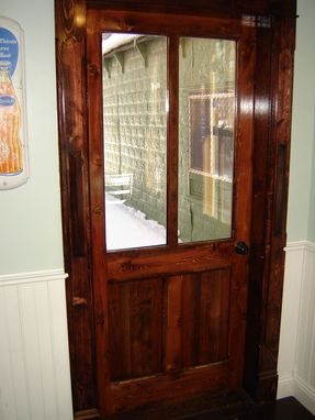 Custom Made Glazed Exterior Door