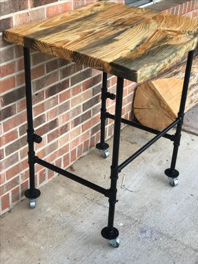 Custom Made Rolling Prep Cart/Cutting Station