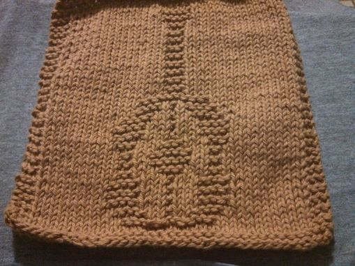 Custom Made Knitted Folk Guitar Cloth For Kitchen, Bathroom, And More