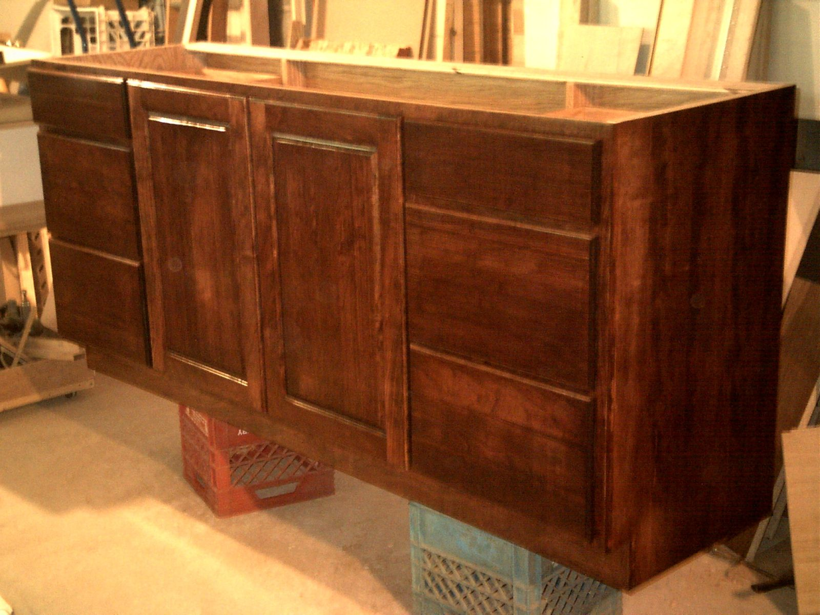 kitchen cabinets design images handmade custom cherry vanity by gbs custommade 20273