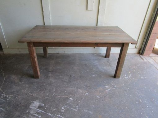 Custom Made Reclaimed Wood Dining Table Made From Reclaimed Wood In The Usa