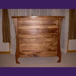 Custom Made Walnut Dresser