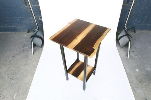 Custom Made Claro Walnut Plant Stand