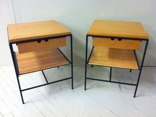 Custom Made Paul Maccob Side Tables
