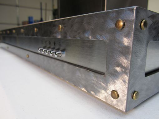 Custom Made Stainless Steel Range Hood Modifications