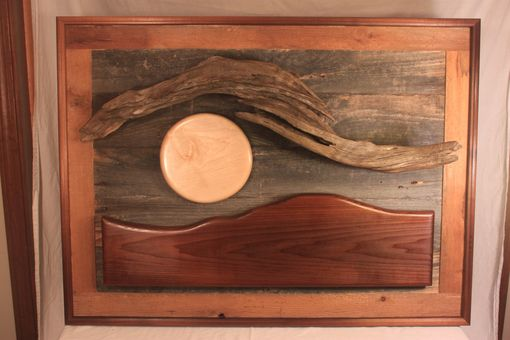 "Custom Made ""Vermont Twilight""  Wall Hanging Sculpture"