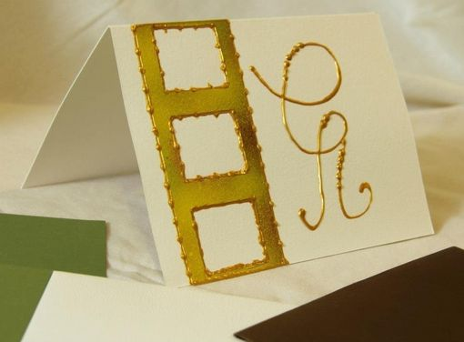Custom Made Wedding And Shower Hand-Painted Cards