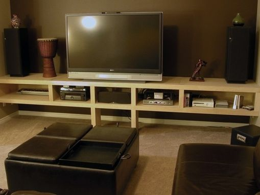 Custom Made Built-In Entertainment Centre