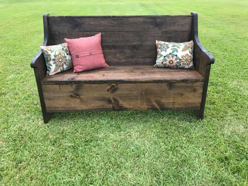 Custom Made Antique Pew