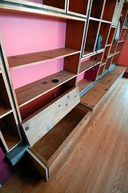 Custom Made 2nd Run Pine Bookshelves