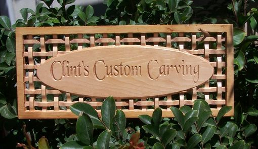 Custom Made Unique Custom Carved Wooden Signs And Wall Hangings