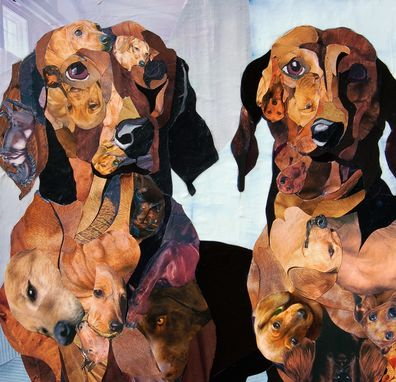 Custom Made Unique Customized Dog Portraits