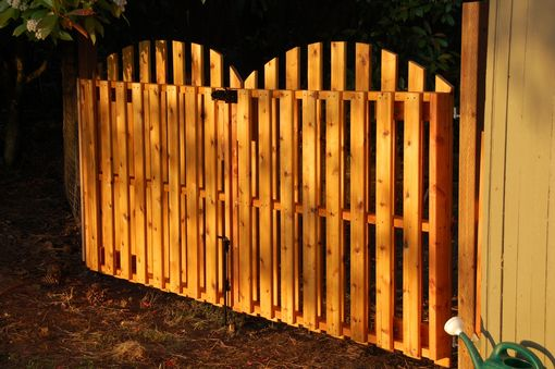 Custom Made Custom Cedar Gate