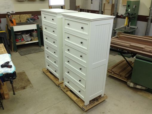 Custom Made Tall Chests Made To Match Existing Bedroom Set