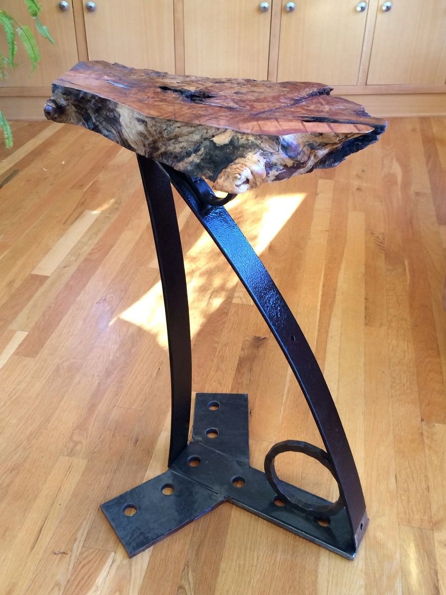 - Buy A Custom Urban Industrial Accent Table, Side Table, Coffee