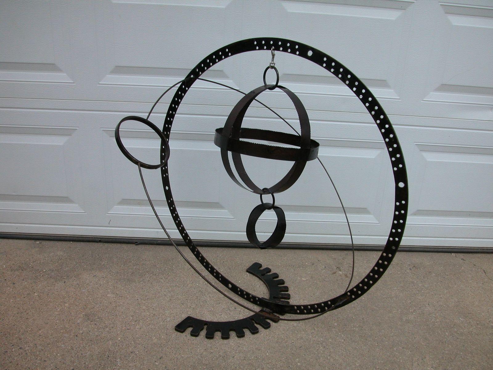 Hand Made Metal Garden Sphere Sculptures by DaceK13 Metal ...
