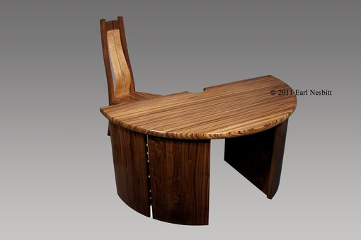 Custom Made Office Desk And Chair