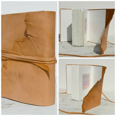 Custom Made Handmade Leather Bound Journal Collection Set