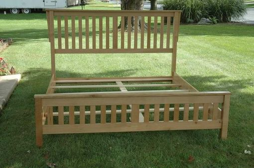 Custom Made Ca King Mission Bed Frame