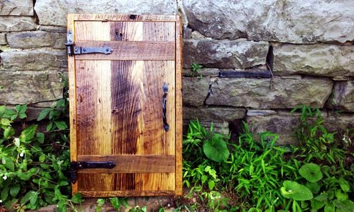Custom Made Rustic Cottage Chic Medicine Cabinet From Reclaimed Wood