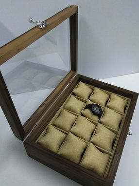 Custom Made Walnut Watch Case