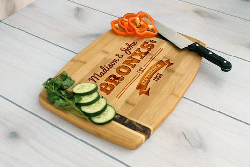 Custom Made Personalized Cutting Board, Engraved Cutting Board, Custom Wedding Gift – Cb-Bamm-Bronx