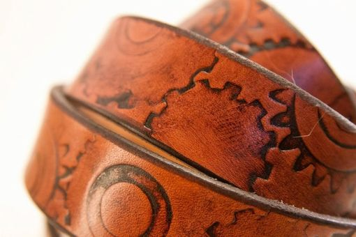 Custom Made Custom Tooled Belt