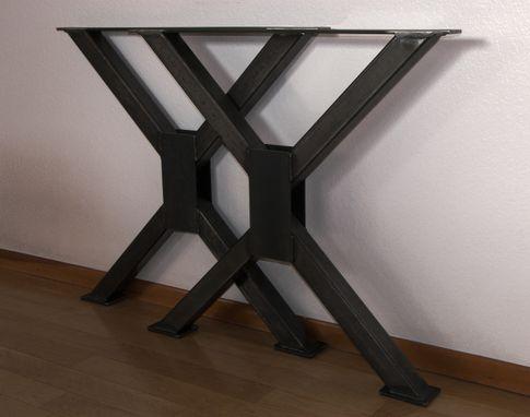 Metal Table Legs Heavy Duty Steel Desk Modern Dining