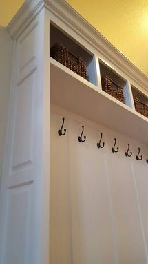 Custom Made Mudroom Locker