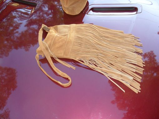 Custom Made Retro Long Fringe Shoulder Bag