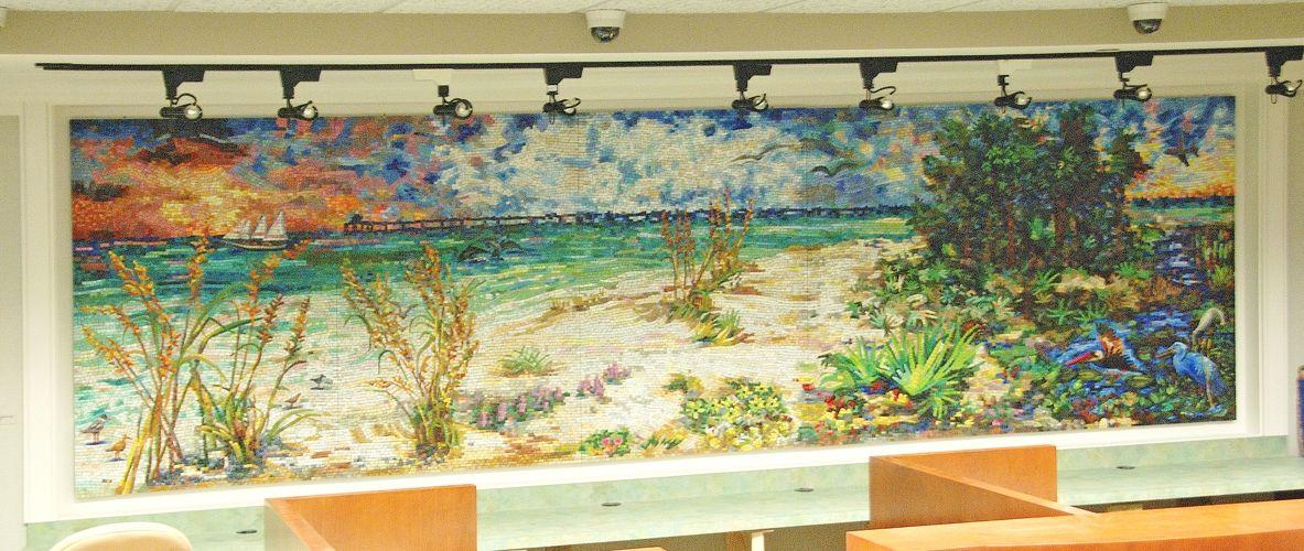 Hand Made Coastal Reflections Of Fort Walton Beach, Fl by