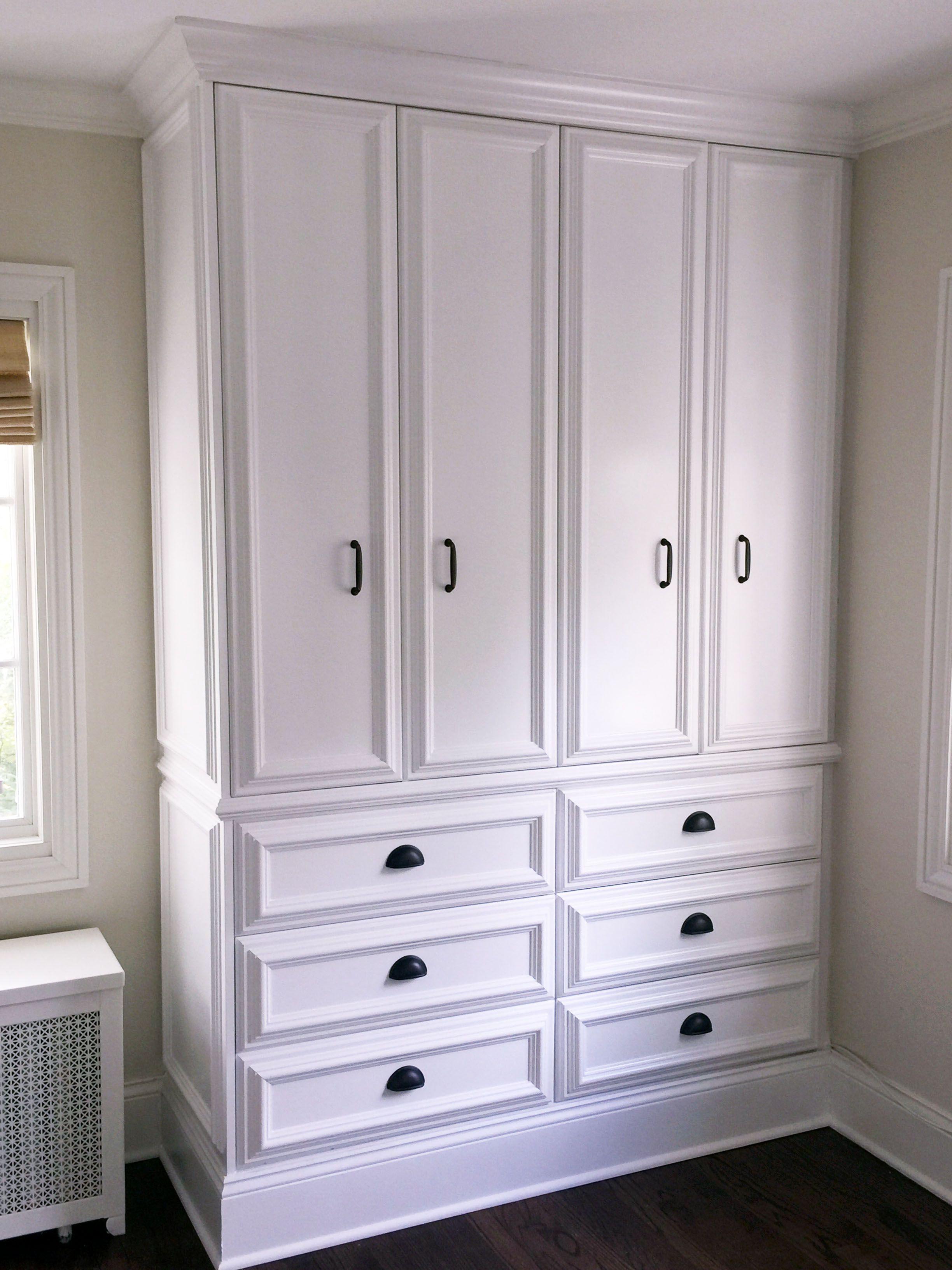 Handmade Custom Bedroom Built In by Built Custom Carpentry ...