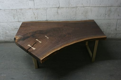 Custom Made Live Edge Coffee Table