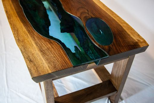 Custom Made River And Three Ponds Table