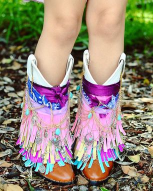Custom Made Toddler-Youth Customized Gypsy Boots