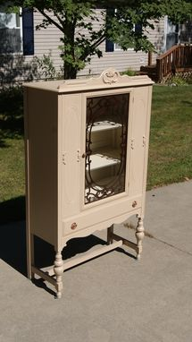 Restored And Refinished Dining Room Hutch