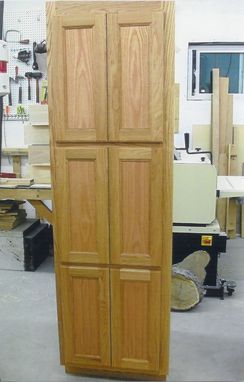 Custom Made 6 Door Linen Closet