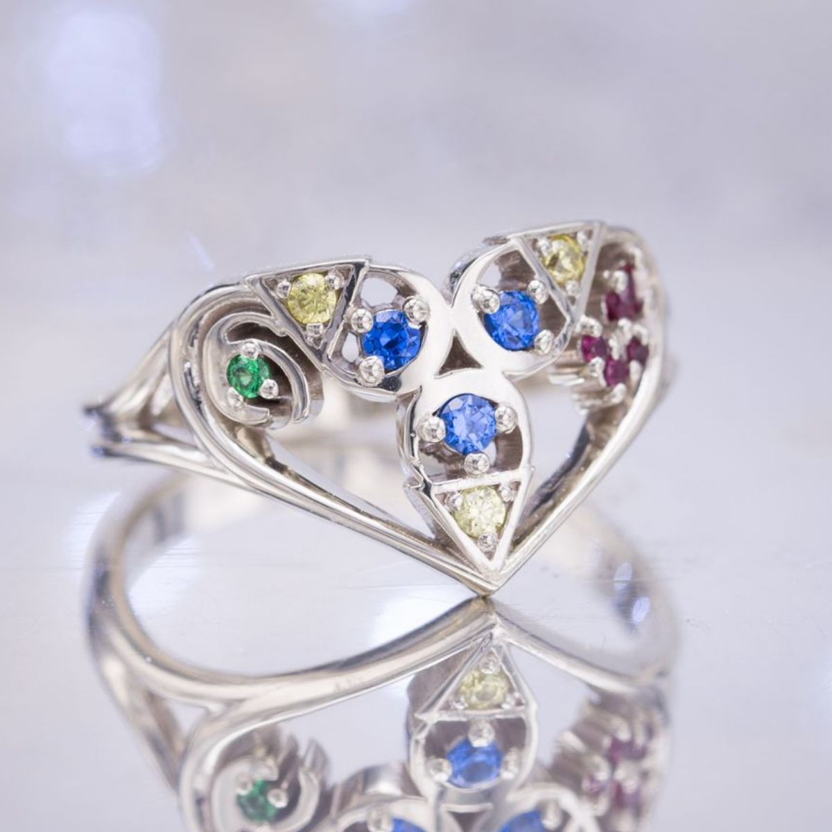 rings stewart colored felsen vert weddings unique engagement opal colorful suzanne martha diamonds