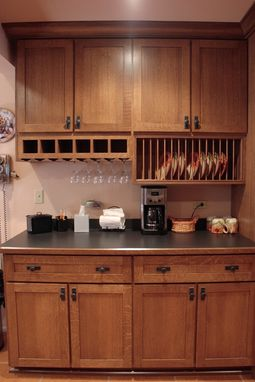 Custom Made Quarter-Sawn Oak Kitchen