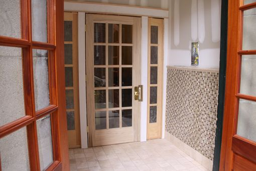 Custom Made Foyer Entry Doors